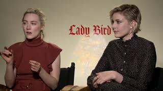 Saoirse Ronan and Greta Gerwig chat