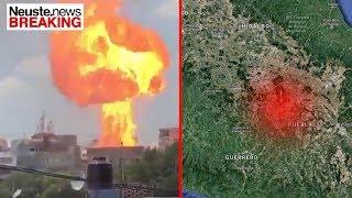 BREAKING: Schweres Erdbeben der Stärke 7,1 in Mexico
