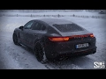 Playing on Snow in the New Porsche Panam...