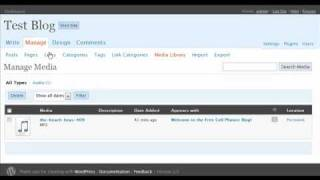 wordpress blog changing your rss feed url