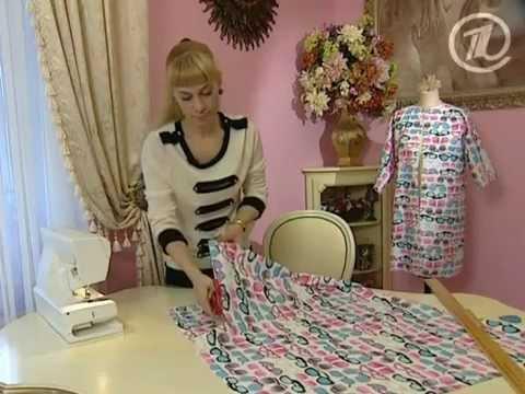 Видео уроки шитья платьев