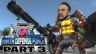 Earth Defense Force 5 Part 3 - Funhaus Gameplay