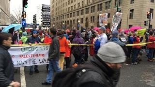 Blockade Protests Pre-Inauguration