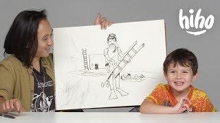 Kids Describe Their Dream Job to an Illustrator