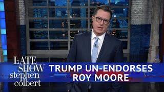 Trump Walks Back His Roy Moore Endorsement