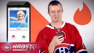 If Ben Scrivens were on TINDER: Frozen, Gwen Stefani + more