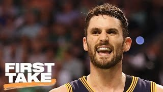 Is Kevin Love Key To Cavs Title? | First Take | May 18, 2017