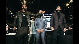 WILDER VS BREAZEALE FACE OFF #SHOWTIME