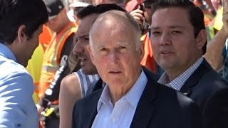 JERRY BROWN WANTS TO RAISE YOUR TAXES BUT SHUTS OUT THE PUBLIC FROM HIS PRESS CONFERENCE.