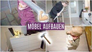 Vlogmas #13 ❘ IKEA Kommode aufbauen ❘ Mila hat Spaß bei OMI ❘ MsLavender