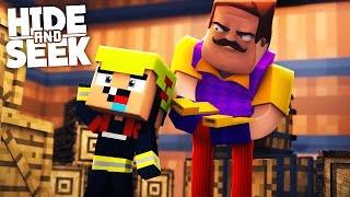 WAS HAT DER NACHBAR VOR? | Minecraft Hide and Seek