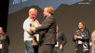 The Polka King Sings The Rappin Polka Live at Sundance Film Festival. By John Koterba,