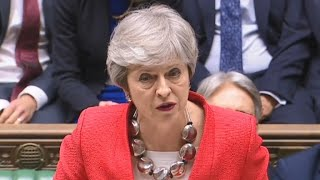 British lawmakers reject Prime Minister Theresa May's Brexit plan again