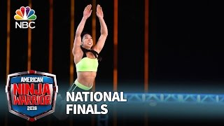 Natalie Duran at the National Finals: Stage 1 - American Ninja Warrior 2016