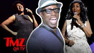 Wesley Snipes Gives His Best Aretha Flanklin Impersonation! | TMZ TV