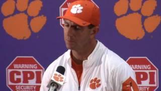 TigerNet.com - Dabo Swinney Louisville postgame press conference - Part 2