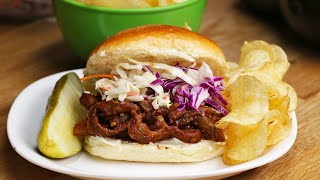 Pulled Eggplant Barbecue
