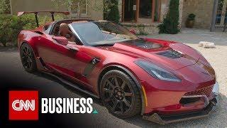 Take a ride in an electric Corvette