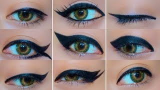9 Different Eyeliner Looks