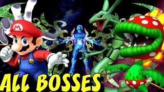 Super Smash Bros. Brawl - All Bosses (No Damage) + Cutscenes