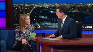 Samantha Bee & Stephen Try Out Some Lady Euphemisms