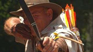 WORLD'S MOST AMAZING ARCHER in Slow Motion - Smarter Every Day 130