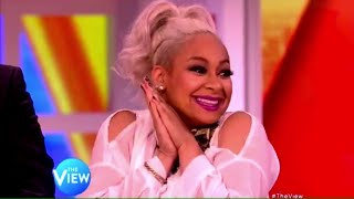 "Raven-Symoné - Talks ""Black-ish"" on The View! (May 6, 2015)"