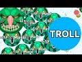 PRO TROLLING NOOB IN AGARIO #2 ( Funnies...mp3