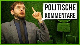 10 Arten von politischen Kommentaren