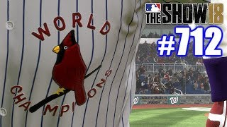 COOLEST THROWBACK UNIFORM!   MLB The Show 18   Road to the Show #712