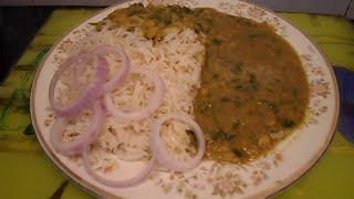 Lahori Daal Chawal Recipe (Lentils Rice) الأرز والعدس - 扁豆饭 -  レンズ豆ご飯