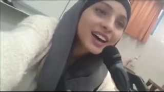 "Muslim girl singing ""Tala"