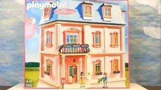 Playmobil Romantisches Puppenhaus 5303 auspacken seratus1 Dollhouse