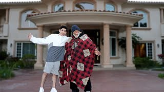 INVITING HOMELESS MAN INTO MY HOME.. **huge surprise**   Vlogs   FaZe Rug