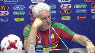 GER v CMR - Cameroon Pre-Match Press Conference