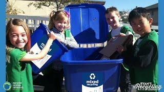 Kid Recycler Helps Make a Difference on Earth Day