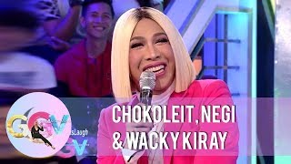 GGV: Chokoleit, Negi, and Wacky Kiray talks about plastic surgery