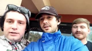 Lunch with Shia LaBeouf #takemeanywhere