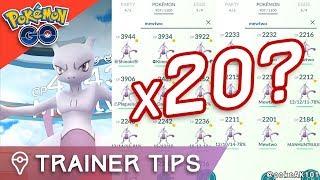 20x MEWTWO IN POKÉMON GO? Should Niantic REMOVE EX Raids from Pokémon GO?