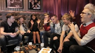 McBusted talk 5SOS, The Vamps, Touring & Ellie Goulding!!