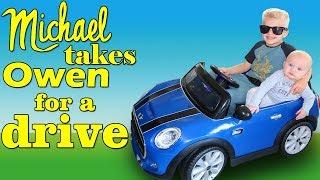 Cute Driver Michael Takes Owen By Family Fun