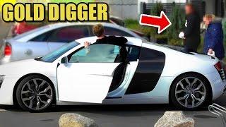 GOLD DIGGER PRANK - AUDI R8 PRANK - 2017 Rich Kid