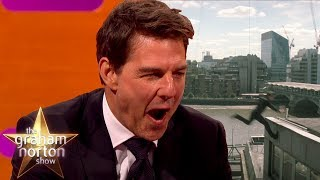 Tom Cruise Reacts to Slow-Mo Footage of How He Broke His Ankle | The Graham Norton Show