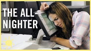 The All Nighter (Funny HP Ad)