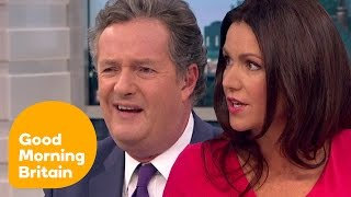 Piers and Susanna Clash Over 64 Year-Old Mother | Good Morning Britain