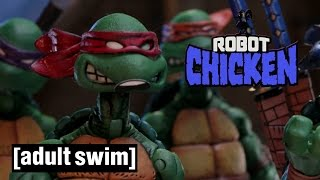 The Best of Teenage Mutant Ninja Turtles | Robot Chicken | Adult Swim