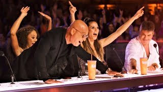 ALL 5 INCREDIBLE GOLDEN BUZZER America