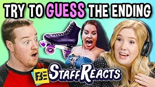 TRY TO GUESS THE ENDING CHALLENGE! #2 (ft. FBE Staff)