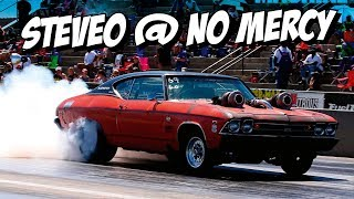 The Aussie Chevelle races Beer Money at No Mercy 9