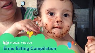 Ernie Food Compilation   Home Videos   HiHo Kids